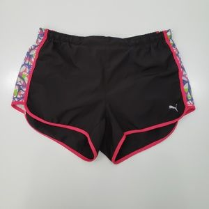 Puma Active Wear Shorts Womens Large